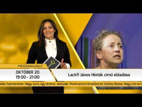 Programajánló / TV Szentendre / 2017.10.12.