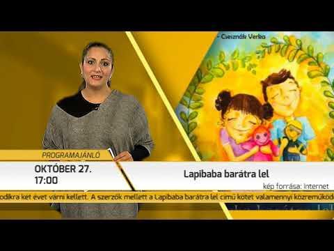 Programajánló / TV Szentendre / 2017.10.19.