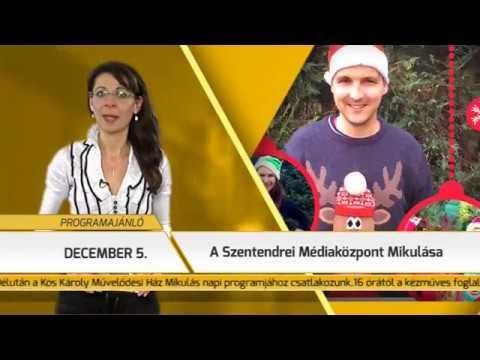 Programajánló / TV Szentendre / 2017.11.30.