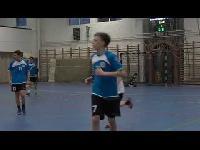 TV Szentendre /  Szentendrei KC - Tatai AC férfi serdülő kézilabda mérkőzés 1. félidő / 2015.02.02.