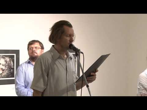 """TV Szentendre / Vincze Ottó kiállítása, """"Optimalizált távkapcsolat""""  / 2015.07.07."""