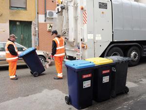 Házhoz mennek a szelektív hulladékért