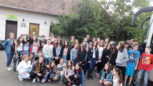 Erdélyben jártak Rákóczis diákok