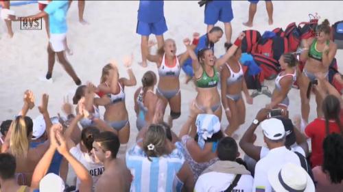 Világbajnok az U17-es leány strandkézilabda-válogatott!