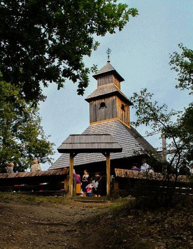 Templom szentelés a Skanzenban