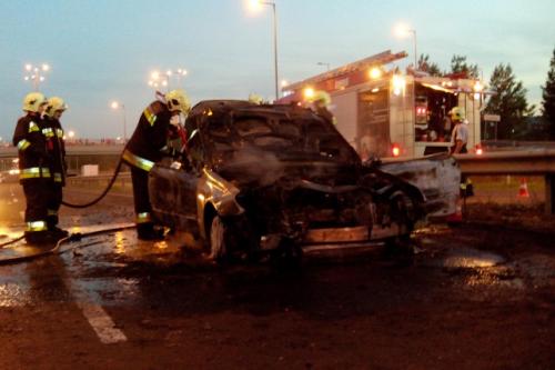 Harrach Péter balesetet szenvedett a 11-es úton