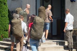 Közel száz újonc és tartalékos vonult be a Szentendrei Altiszti Akadémiára.