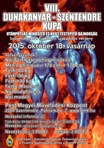 VIII. Dunakanyar Kupa Utánpótlás Minősítő és Nyílt Testépítő Bajnokság