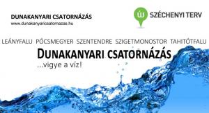 Nyáron kezdik a csatornázást a Dunakanyarban