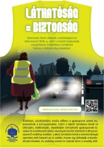 Óvd a gyalogost! - a Megyei Balesetmegelőzési Bizottság közleménye