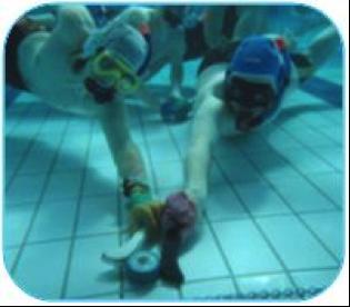 Víz alatti hoki mérkőzés