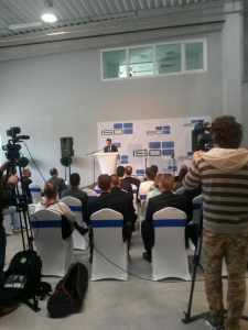 Átadták az ISO Kft új üzemcsarnokát Szentendre ipari fejlesztési övezetében.