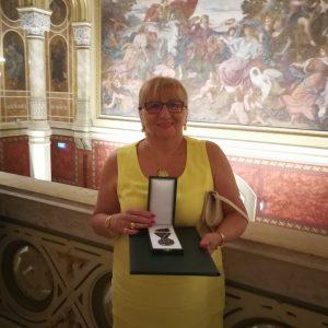 Állami kitüntetést kapott Jolanda Willemsee
