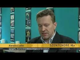 Újabb öt évre Kerezsi Csaba a Móricz Zsigmond Gimnázium igazgatója