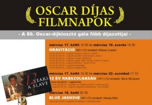 Oscar-díjas filmek hete a P'Art Moziban