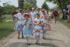 Matyók, busók, tikverőzők a Skanzen pünkösdi fesztiválján