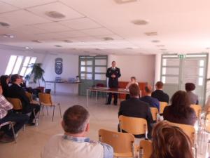 Közbiztonsági egyeztetés a Szentendrei Rendőrkapitányságon