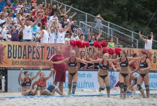 A Strandkézilabda -világbajnokság negyed döntőjében a szentendrei játékosok