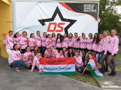 Szenzációs eredményekkel tért haza a Welldance a horvátországi világversenyről