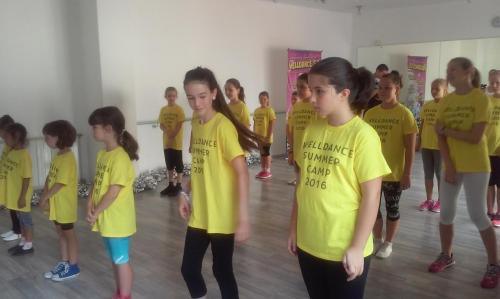 Nyárzáró tánc tábor